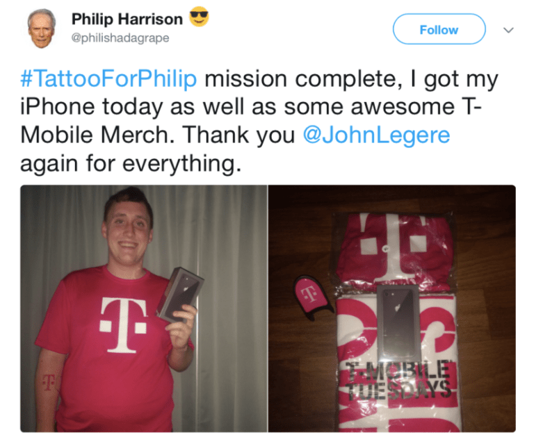 iPhone, Филип Харрис, T-Mobile, Джон Леджер