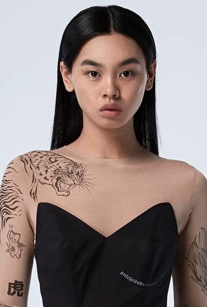 дизайнерская одежда, одежда в стиле тату, анна осмехина, украинский дизайнер, tattoosweaters