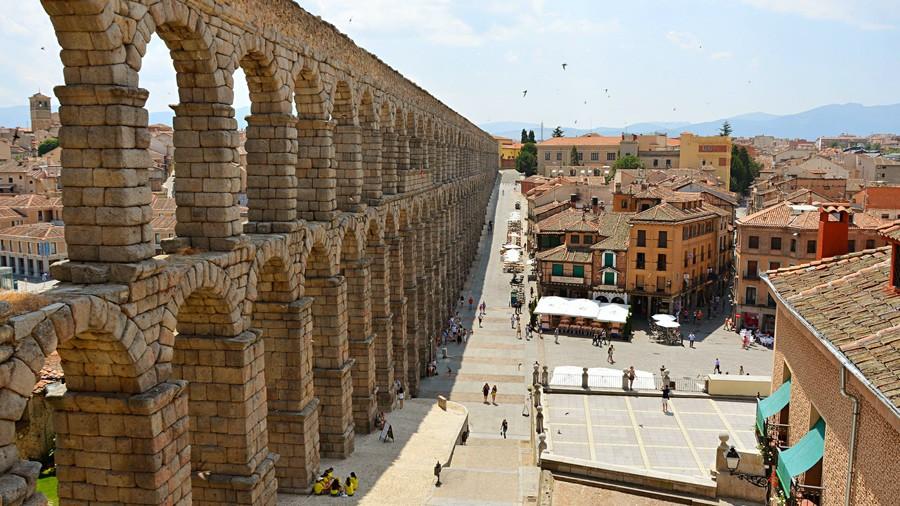 акведук, сеговия, испания, римская империя