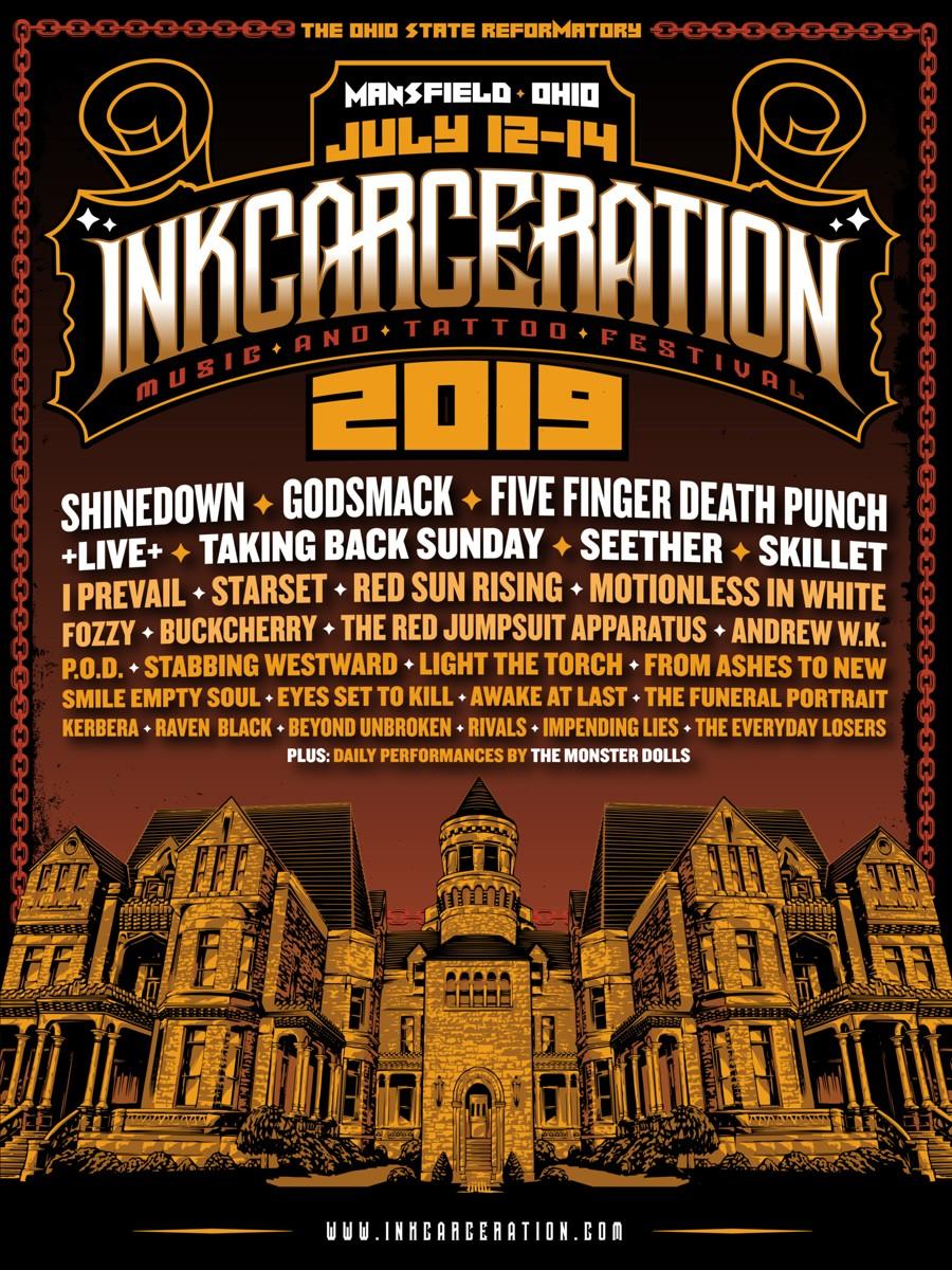 Мэнсфилд, Огайо, Тюрьма Шоушенк, InkCarceration, фестиваль татуировки, музыкальный фестиваль, MusInk, Ohio State Reformatory