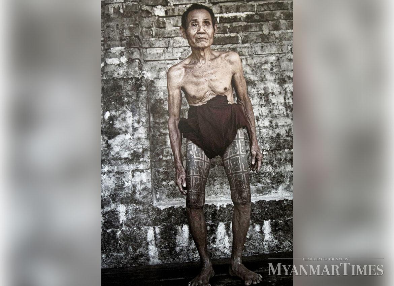 традиционная татуировка, татуировки мьянма, племенная татуировка, мужские татуировки, jens uwe parkitny, народные татуировки