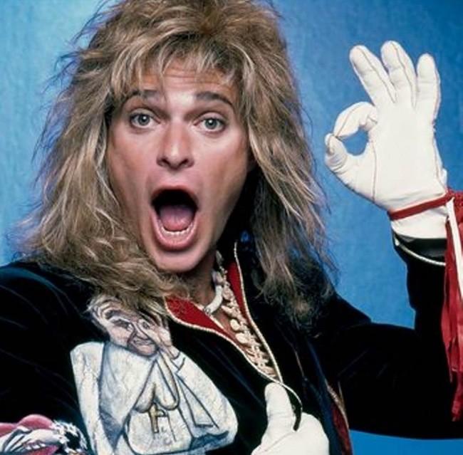 Дэвид Ли Рот, David Lee Roth, Van Halen, Ван Хален, глэм-метал