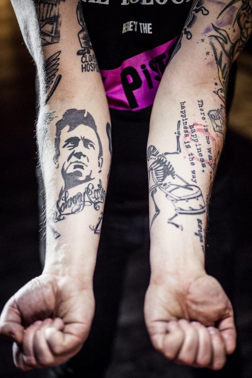 дмитрий спирин, дима сид, четыре таракана, тараканы, панк-рок, панковские татуировки, панки, история рока