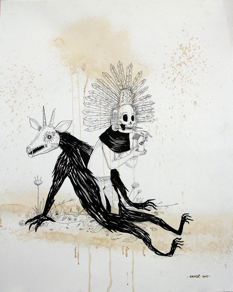 художник, иллюстратор, дизайнер, мексиканские маски, мексиканский фольклор, мексика, примитивное искусство