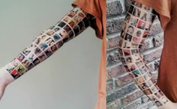 татуировка фейсбук друзей из фейсбука