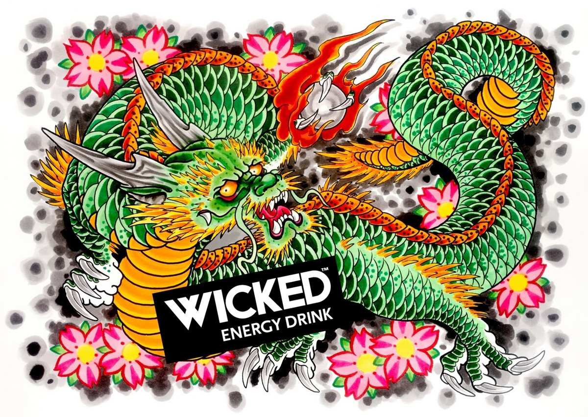 энергетика «Wicked Energy Drink»