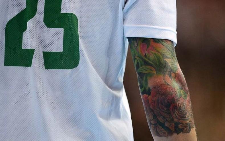 Szabolcs Zubai, ручной мяч, татуировка