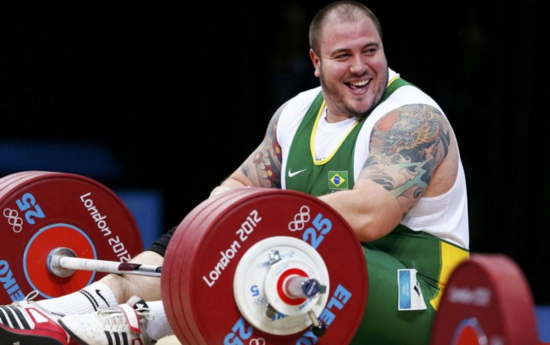 Saraiva Reis, тяжелая атлетика, татуировка