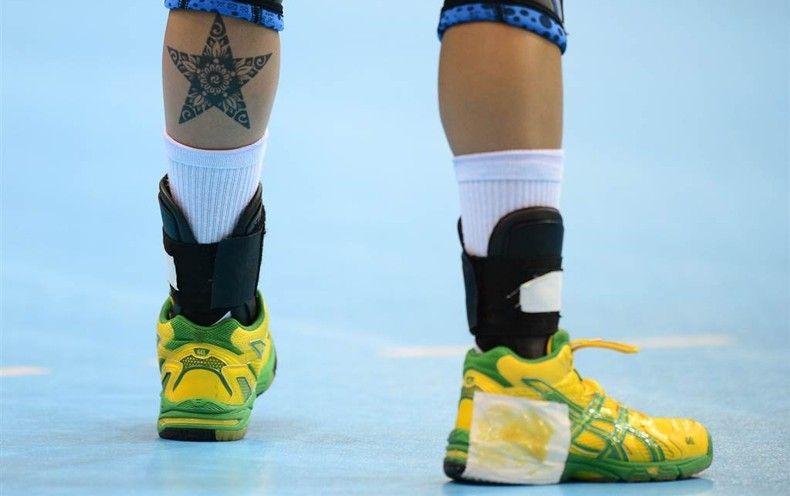 Fernanda Silva Rocha, ручной мяч, татуировка