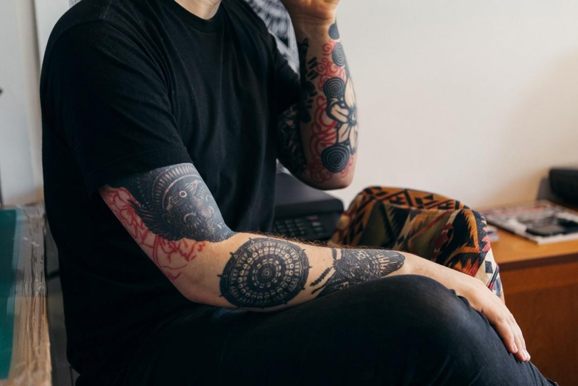 татуировки Tom Gilmour