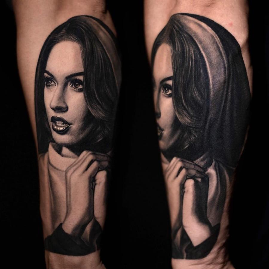 Никко Хуртадо: татуировка, портретный реализм