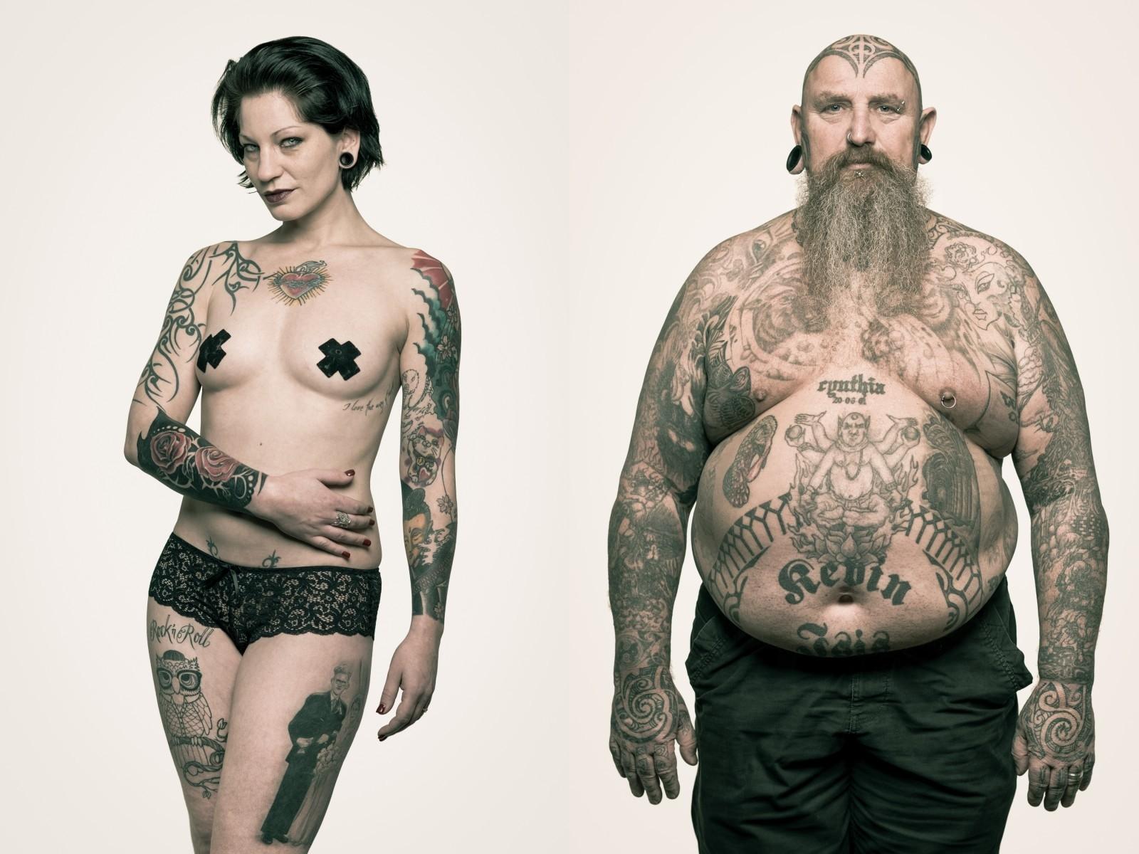 татуированные люди, Ralf Mitsch