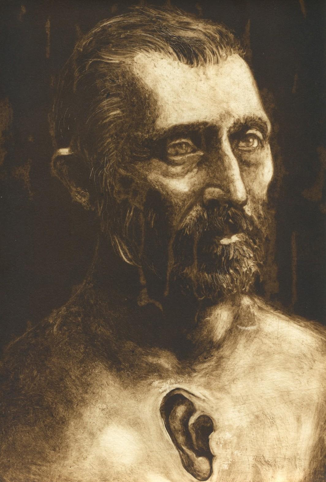 татуированные художники, Винсент Гог