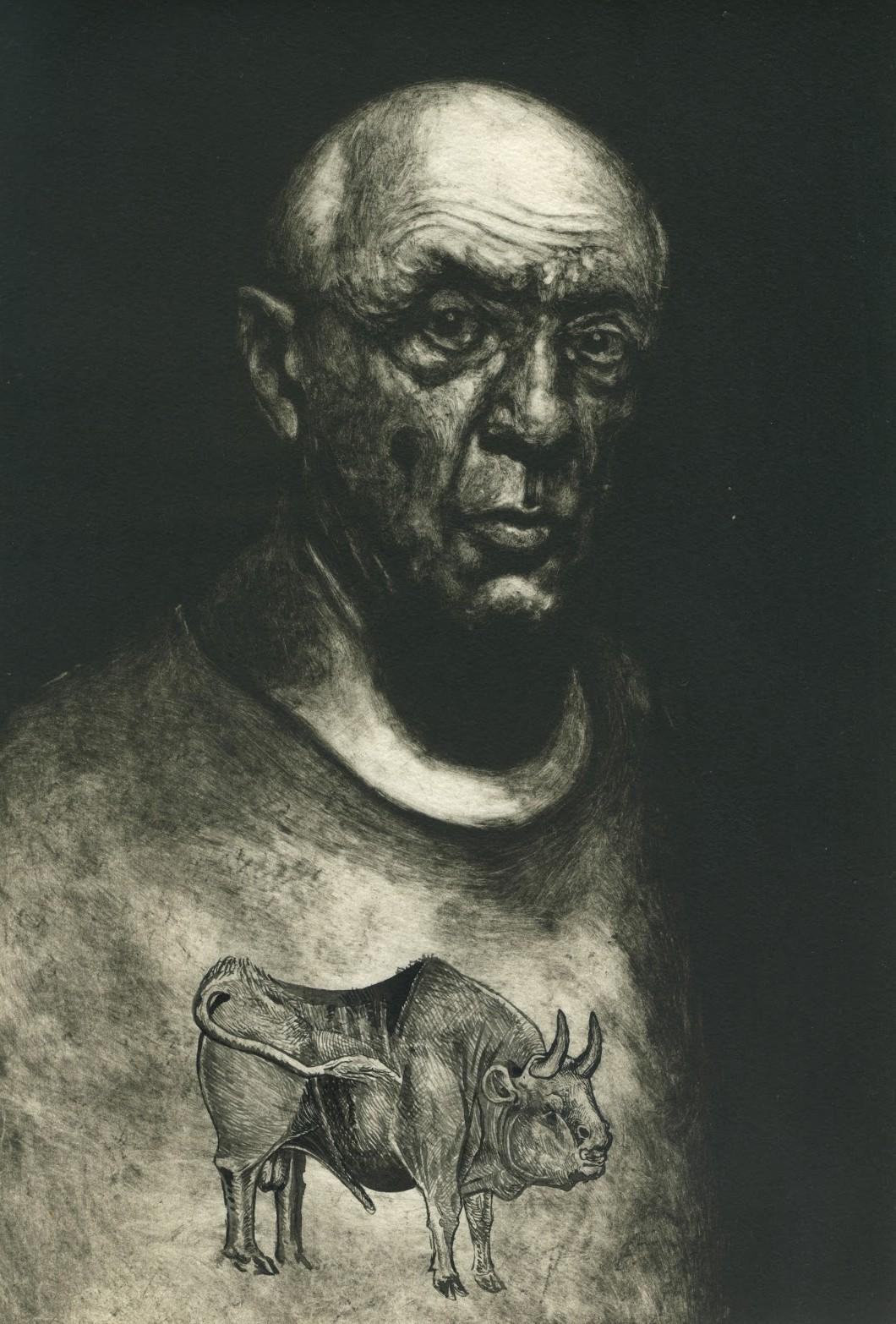 татуированные художники, Пабло Пикассо