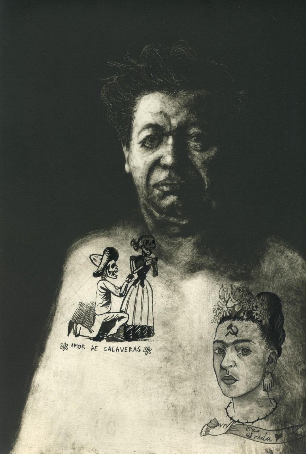 татуированные художники, Диего Ривера