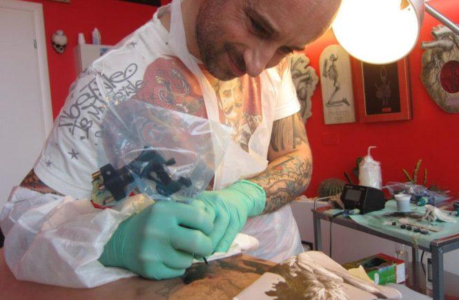 татуировщик из италии Matteo Pasqualin