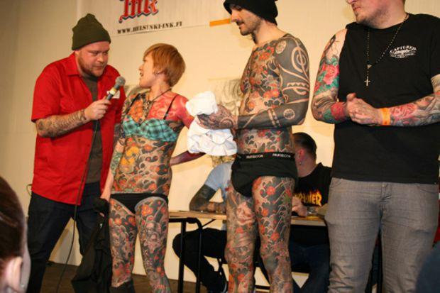 поездка на Helsinki Ink 2014