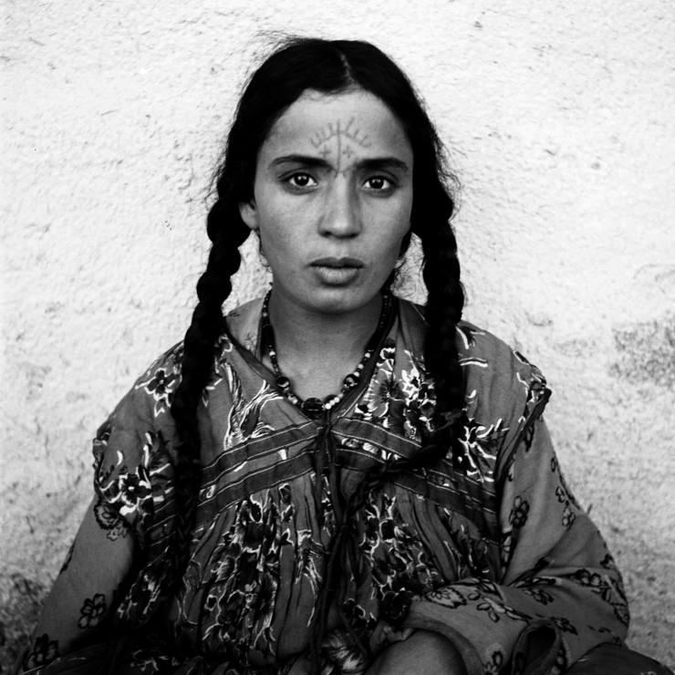 традиционная татуировка в алжире