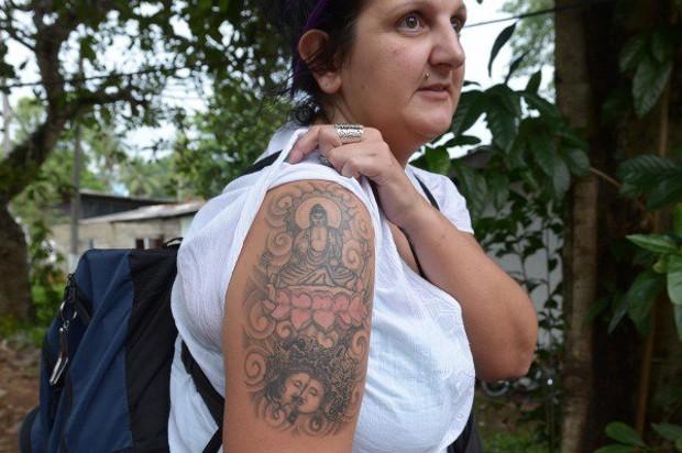татуировка Будды