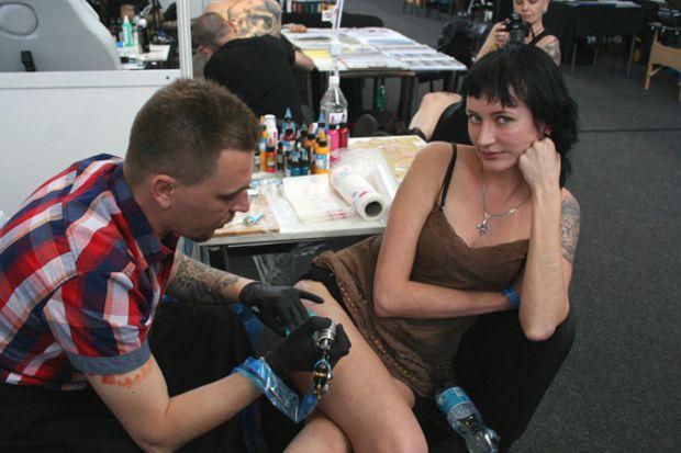 16-я международная тату-конвенция в праге 2014