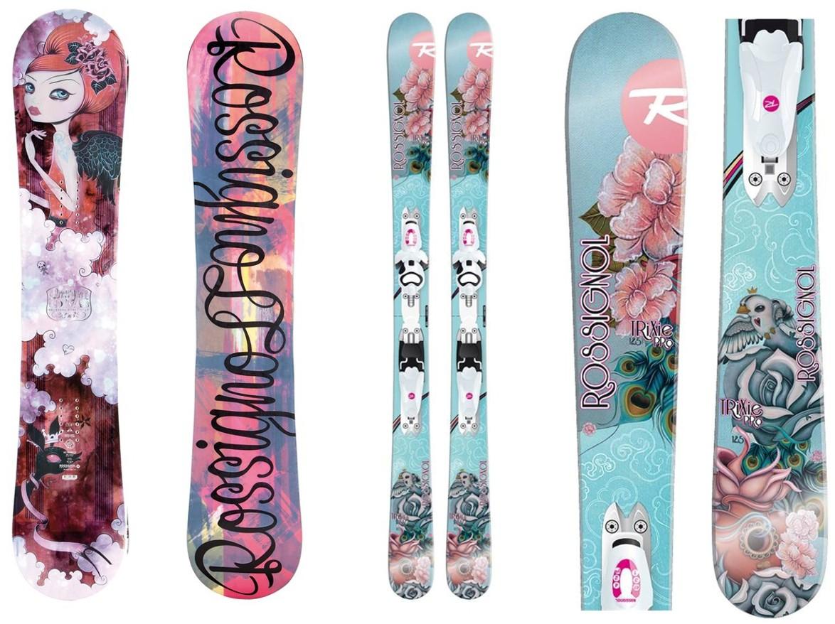 Caia Koopman - сноуборд и лыжи