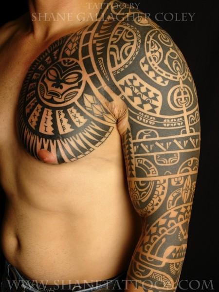 Дуэйн Джонсон (Dwayne Johnson) татуировка