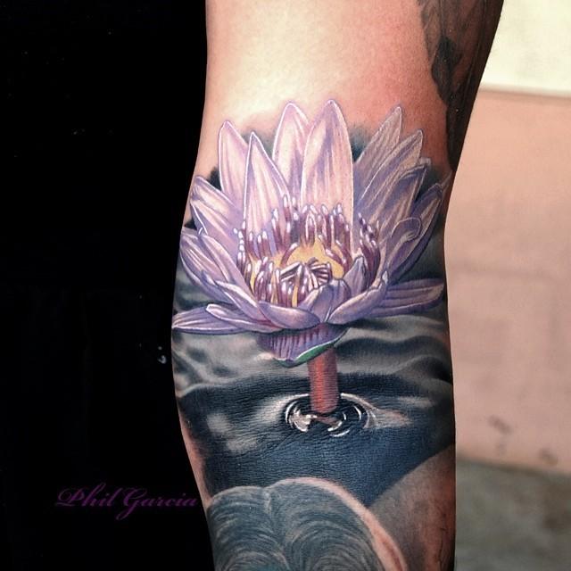 phil garcia: татуировки цветы