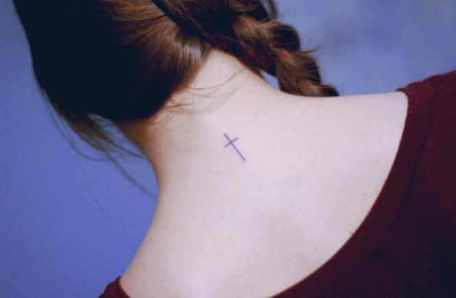 минимализм в татуировке от Seoeon