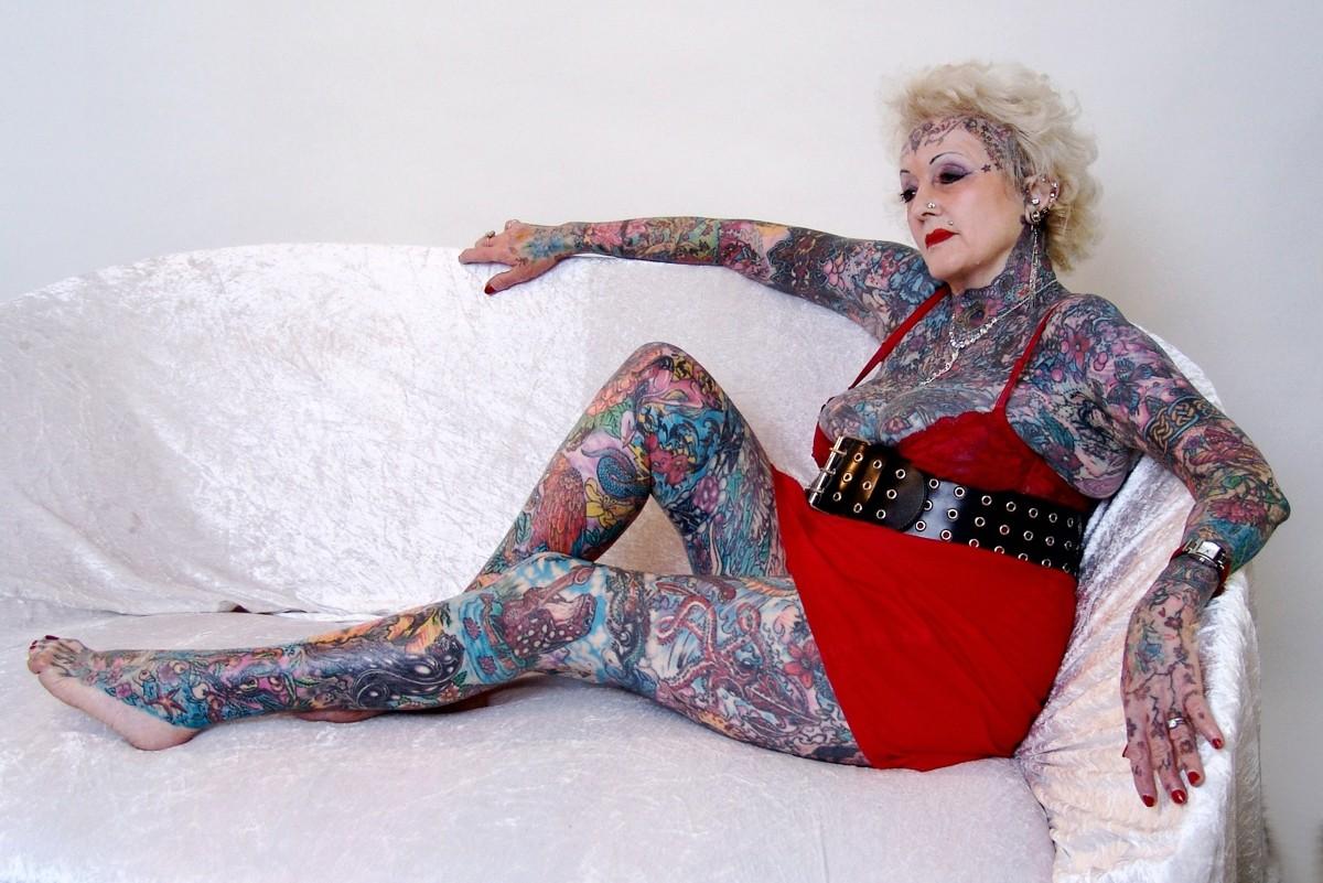 самая татуированная леди  Изобель Варлей (Isobel Varley)