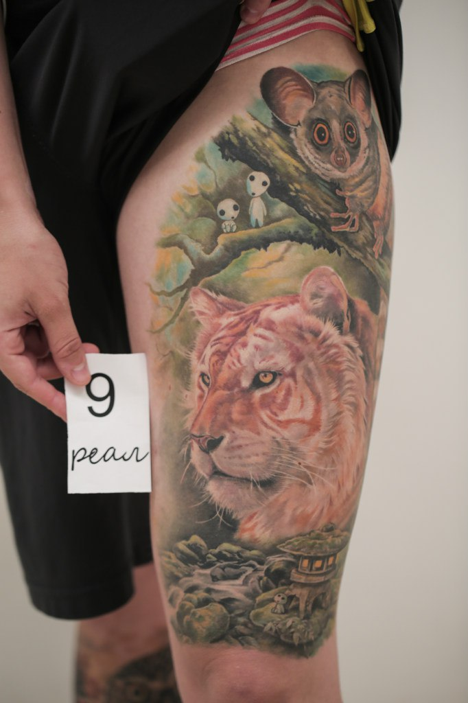 Ольга Сергеева: лучшая татуировка в стиле реализм