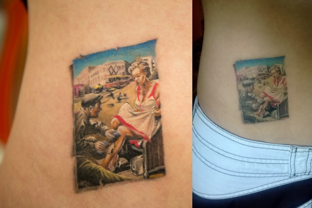 Иван Spiny: лучшая миниатюрная татуировка