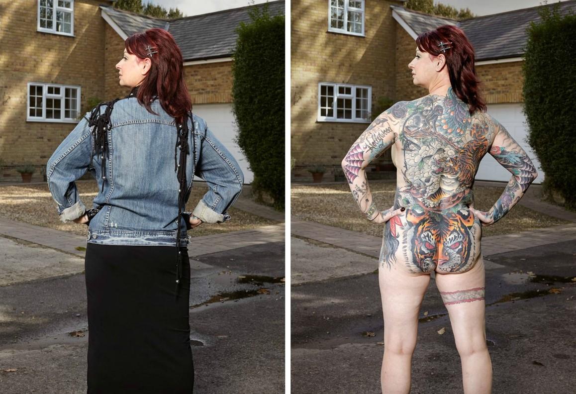 "фото-арт проект ""Covered"", фотограф Alan Powdrill"