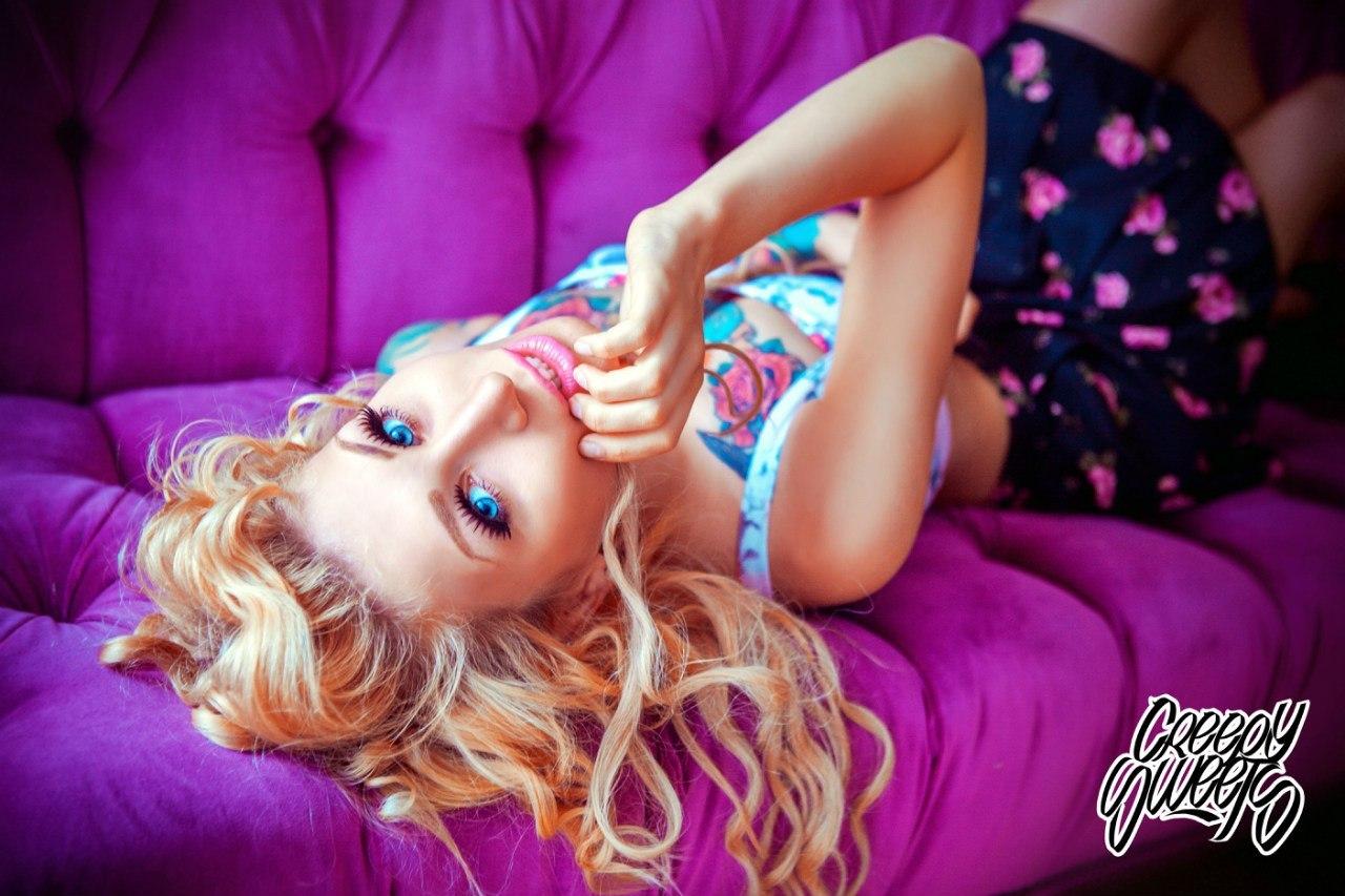 тату-модель, фотомодель - Инна Логвин (Лос-Анджелес)