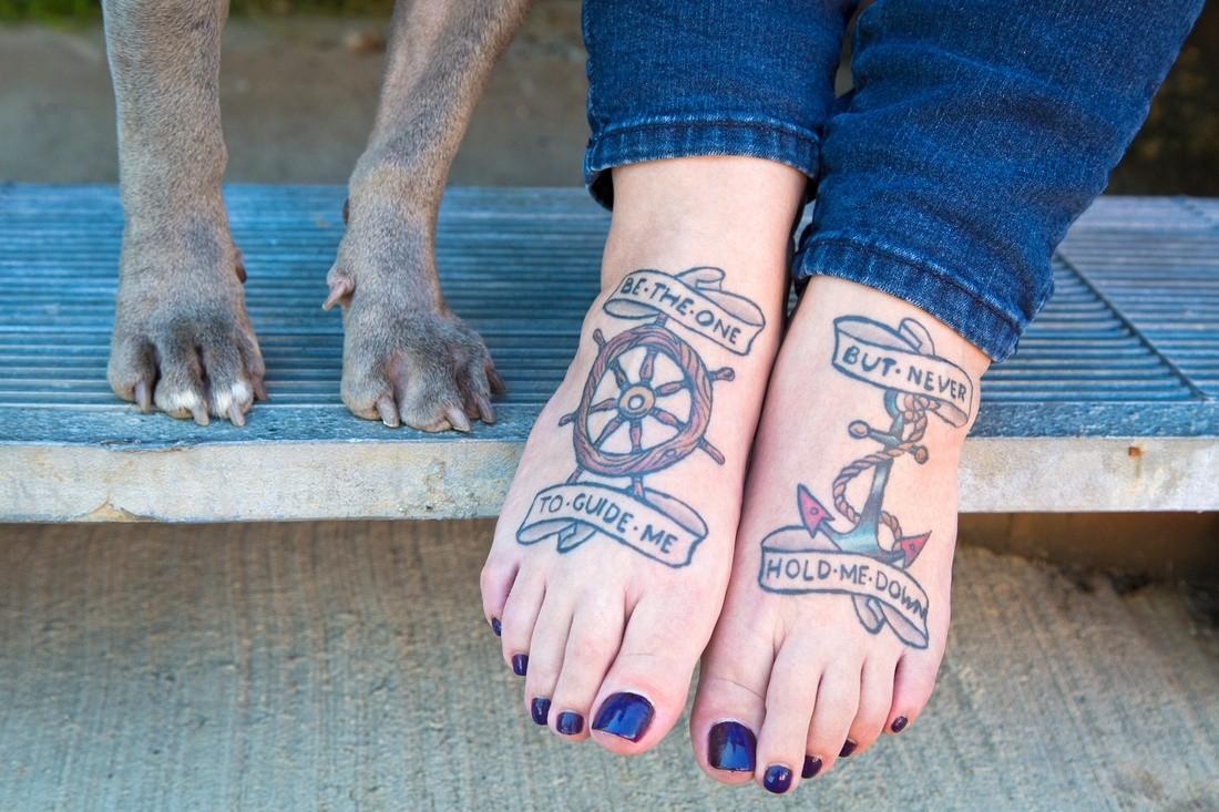 Brian Batista: собаки и их татуированные хозяева