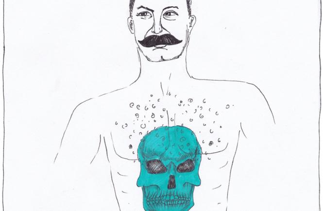 Иосиф Сталин с татуировкой