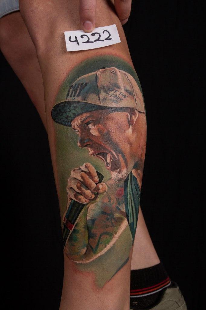 лучшая татуировка 5-го сибирского тату-фестиваля 2015