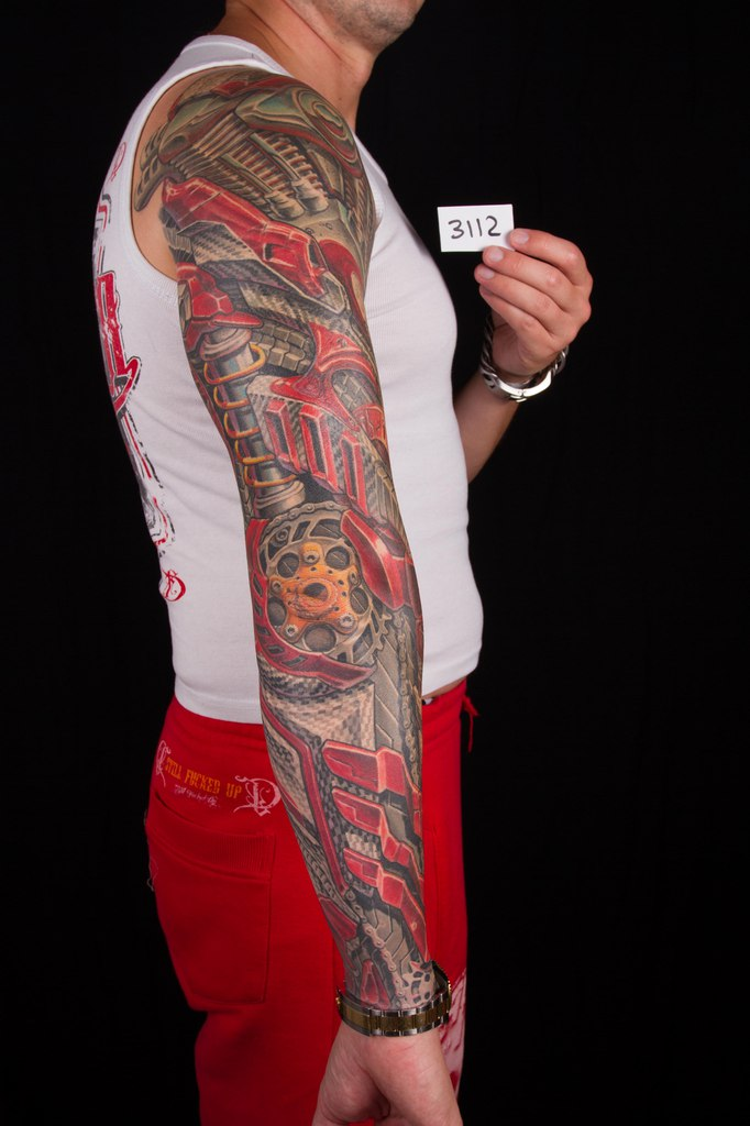 лучшая цветная татуировка 5-го сибирского тату-фестиваля 2015