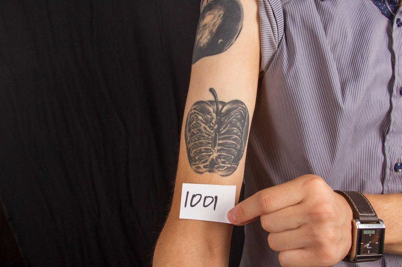 лучшая маленькая татуировка 5-го сибирского тату-фестиваля 2015