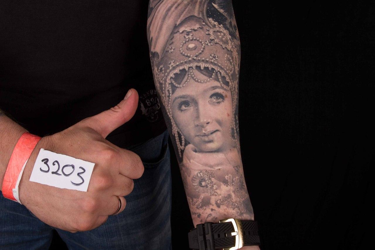 лучшая тематическая татуировка 5-го сибирского тату-фестиваля 2015