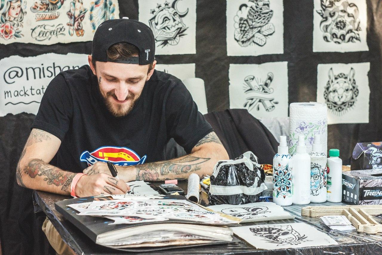 5-й сибирский фестиваль татуировки 2015