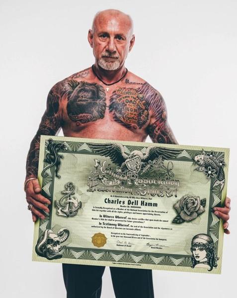 Charles Hamm, Save My Ink