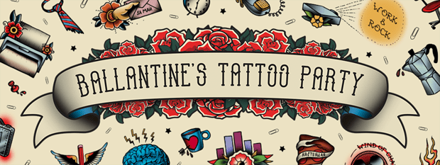 Ballantine's Tattoo Party