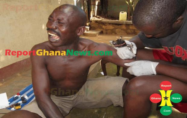 татуировки в Гане (северная Африка)