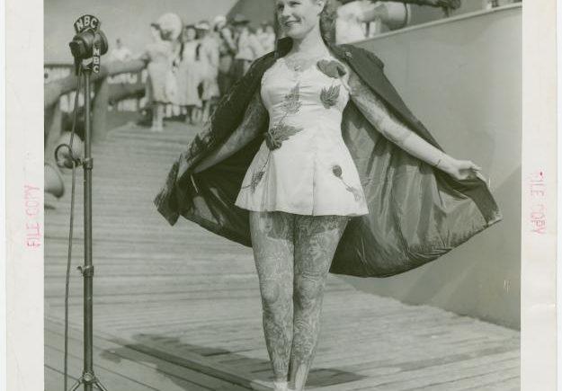 Татуированная леди - Бетти Бродбент, 1937