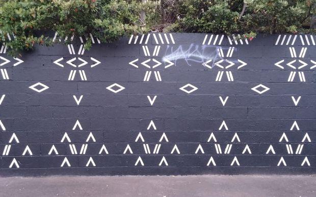 стена Самоа на Whau Arts Festival