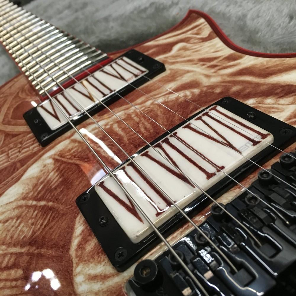 Кровавая гитара ESP (автор Vincent Castiglia)