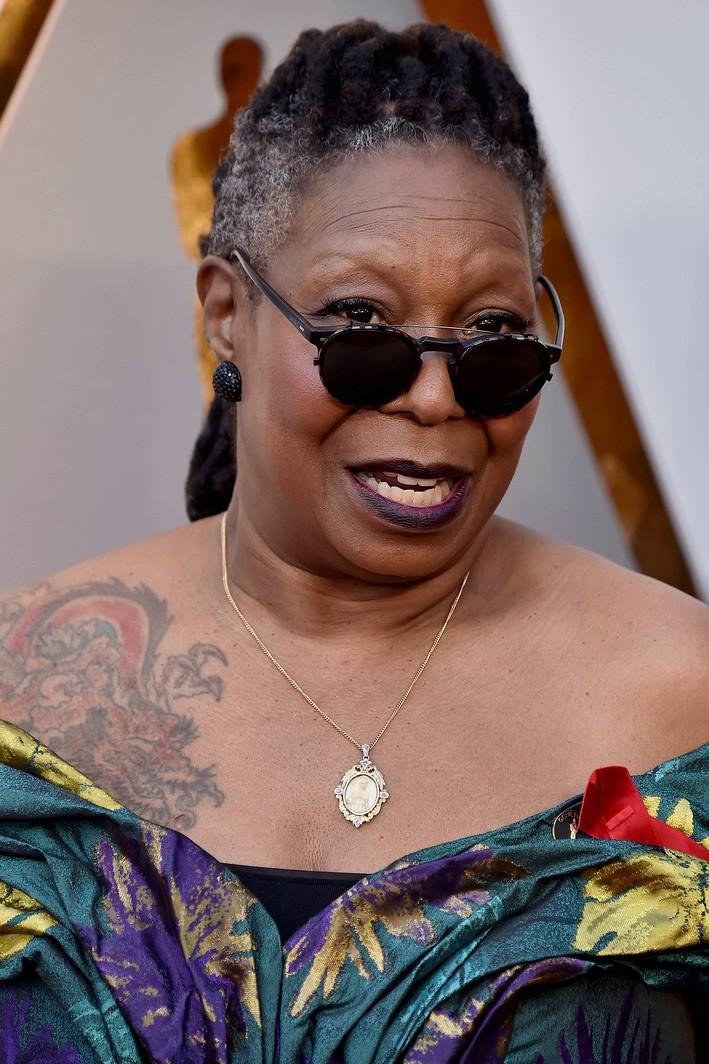 Вупи Голдберг, Голливуд, красная ковровая дорожка, премия Оскар, Американская Кино-Академия, платья знаменитостей, награждение