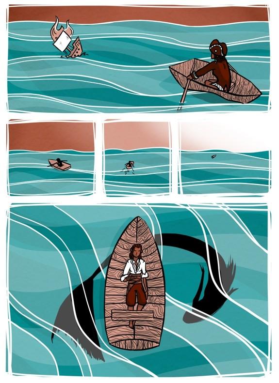 комикс про русалку