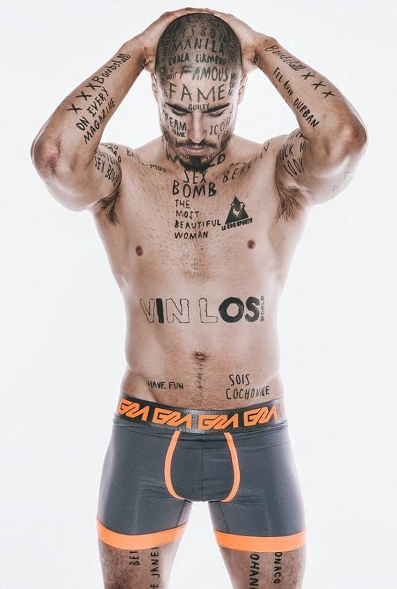 Vin Los - татуировки на лице