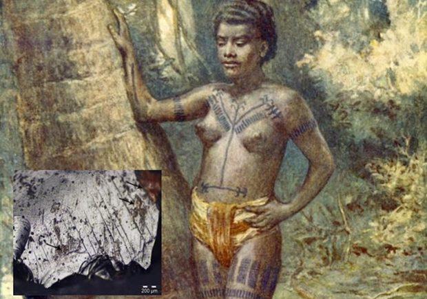 татуировки древнего человека